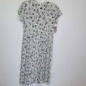 NWT Vintage Liz Claiborne derby dress size 14